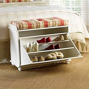 15 Creative DIY Storage Benches - Hative