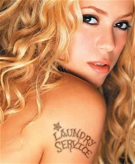 Shakira Tattoos Pics Photos Pictures Of Her Tattoos