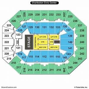North Charleston Coliseum Seating Charts Views Games