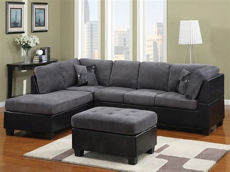 3 discount gray microfiber sectional sofa set with lovely style furniture deals philippines exclusive