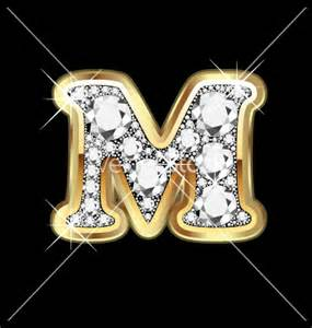 Diamond Letter M