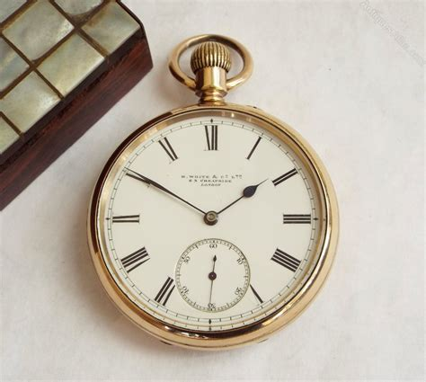 Antiques Atlas  Antique Pocket Watch From H White & Co