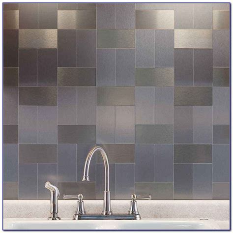 peel and stick subway tiles uk stainless steel tiles backsplash peel stick tiles home