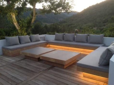 sofa exterior para terraza cojines de exterior