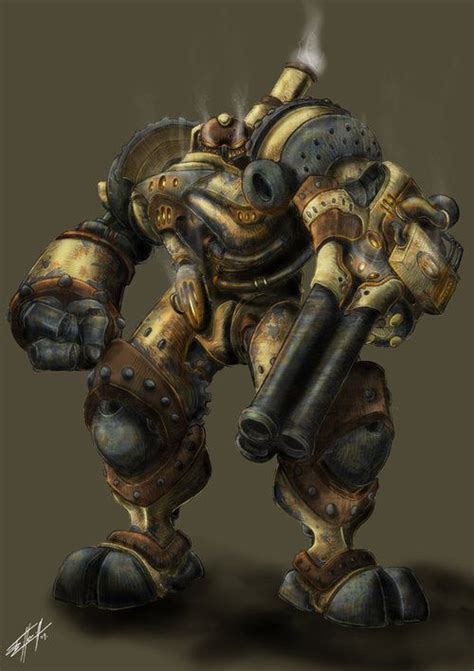 build steampunk robot costume