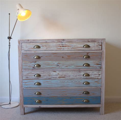 Latest Interiors For Living Room by Beach Hut Style Chest Drawers Reclaimed Wood Beach