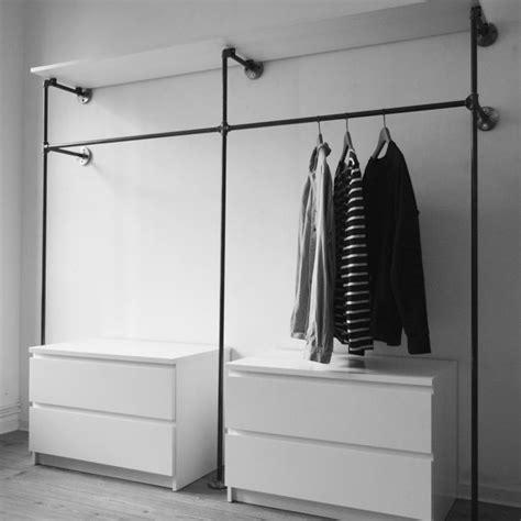 offener kleiderschrank guenstig offener kleiderschrank offene garderobe aus stahlrohr wir fertigen dir dein rohrger 252 st mit