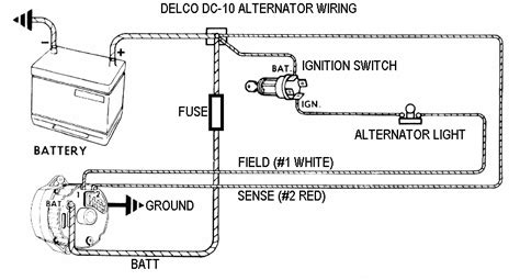 2 Wire Alternator Diagram by Wiring Diagram How To Wire Gm Alternator Chargcircuit2