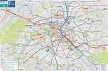 Paris Map and Paris Satellite Image