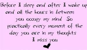 quotes about missing your kids | miss you baby graphics ...