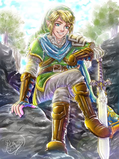 Link The Legend Of Zelda Fan Art By Michelle