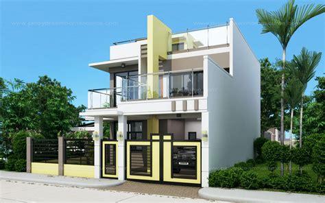 prosperito single attached  story house design