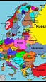 Map of languages spoken in Europe. Why are there so many ...