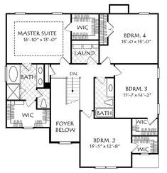Country Style House Plan 4 Beds 3 5 Baths 3393 Sq/Ft