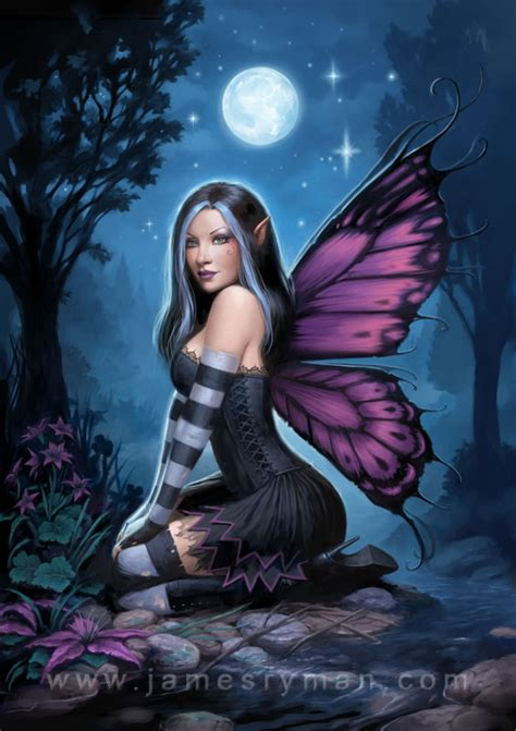 Warrior Cat Desktop Wallpaper Night Fairy By Namesjames On Deviantart