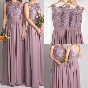 Cheap lace bridesmaid dresses long 2016 new designer for Garden wedding bridesmaid dresses