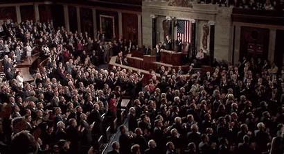 Applause Congress Trump Standing Democrats Stand Ovation