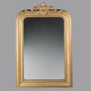 Miroir Cadre Bois : miroir cintr dans un cadre en bois et stuc dor fin du xixe si cle 2015020133 expertissim ~ Teatrodelosmanantiales.com Idées de Décoration