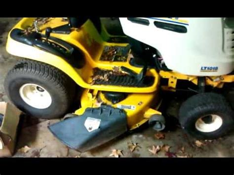 cub cadet problem solved  update  youtube