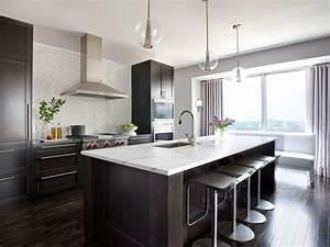 Dark, Hardwood, Floors, For, Kitchen