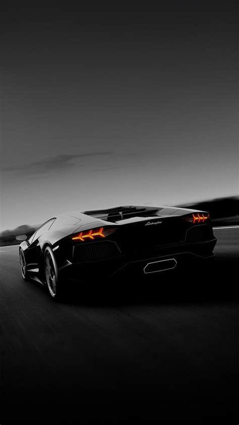 black lamborghini car smartphone wallpaper android