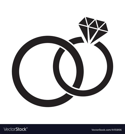 black wedding bands for wedding rings royalty free vector image vectorstock