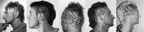bart schneiden muster tondeo eco tribal haarschneider black m 3267