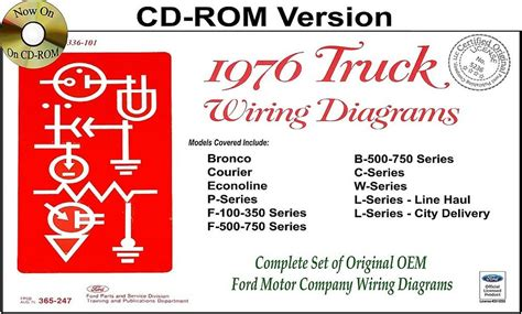 Ford Truck Wiring Diagrams Rom Bronco Courier
