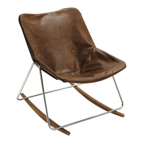 chambre bébé garçon ikea fauteuil à bascule en cuir marron g1 maisons du monde