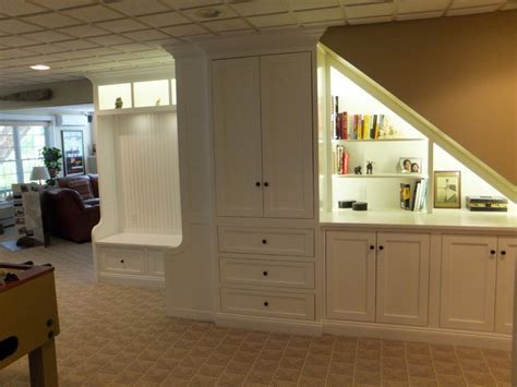 Woodwork Building Cabinets Under Stairs PDF Plans