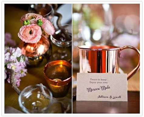 Moscow Mule Mug Favors Wedding Favor Table Copper