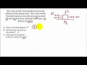 Net Force Practice Problems