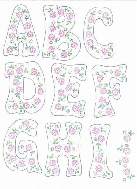 moldes4truchi letras con dibujos patrones de letras letras para imprimir y letras en foami