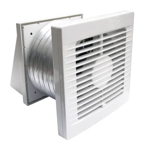 Wand Dunstabzugshaube Umluft by Manrose Bathroom Wall Exhaust Fan Kit 150mm Bunnings