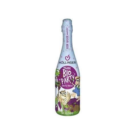 Höllinger bērnu šampanietis ar bio sarkano vīnogu sulu