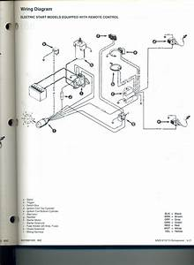 I Need Electrical Schematic For 1988 Mercury 9 9 Hp Engine