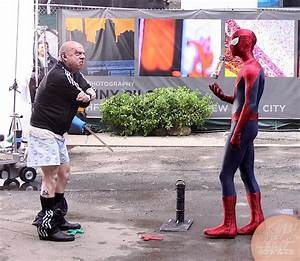Spider-Man is bullying Rhino in these set photos - Nerd ...