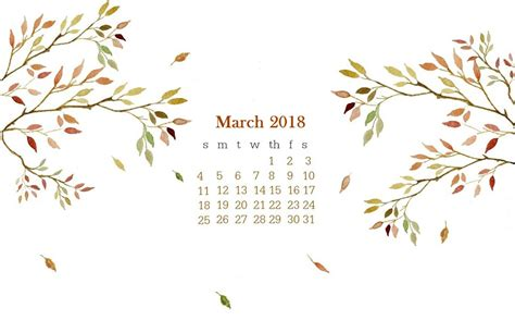 free march 2018 calendar for desktop and iphone march 2018 desktop calendar calendar 2018