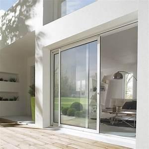 Baie Coulissante Bois : baie coulissante bois leroy merlin maison design ~ Premium-room.com Idées de Décoration