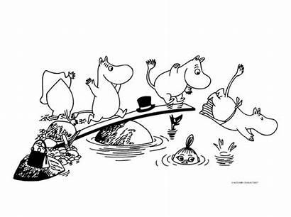 Muumi Mumin Moomin Moomins Hackman Tove Jansson