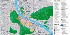 Salzburg tourist map
