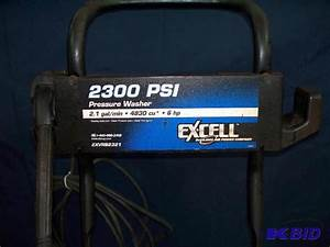 Excell 2300 Psi Pressure Washer 6hp