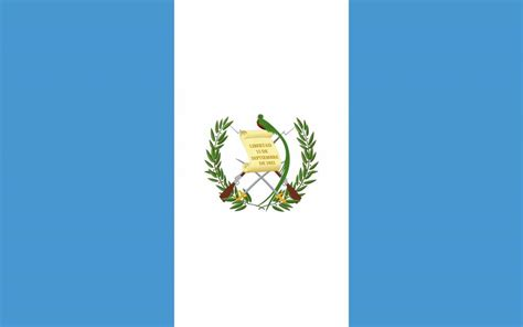 Guatemala flag coloring - country flags