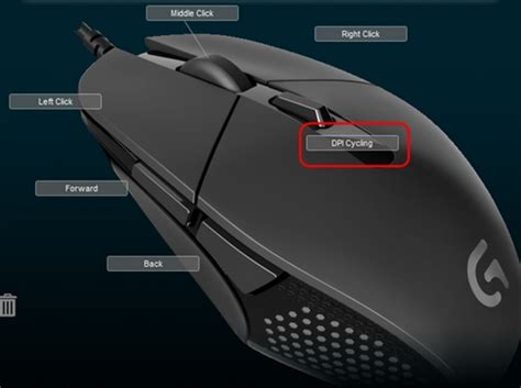 programming gaming mouse buttons  logitech gaming
