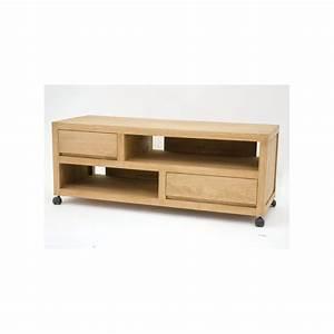 Tv 120 Cm : meuble tv roulettes h v a 120cm olga pier import ~ Teatrodelosmanantiales.com Idées de Décoration