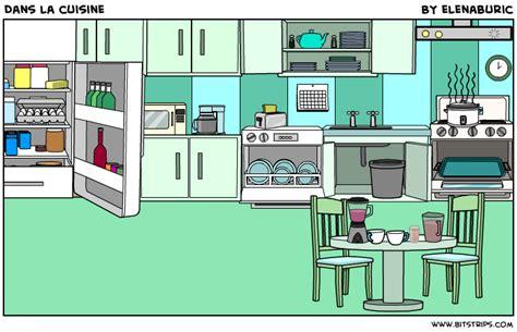 dans la cuisine de la classe de français dans la cuisine objets de la