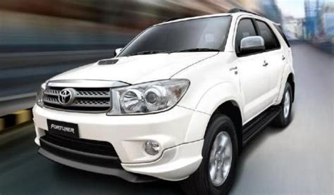 Models And Prices by Guide To Buying A Used Toyota Fortuner India Second