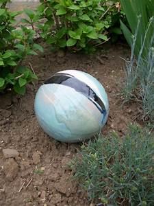Boule Decorative Extérieure : boules en gr s pour la d coration ext rieure poteries de jardin ~ Teatrodelosmanantiales.com Idées de Décoration