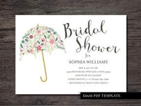 Bridal Shower Invitation Templates Free