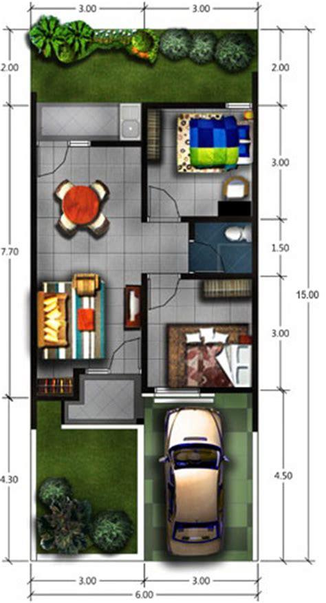 desain renovasi  pengembangan rumah type  pt